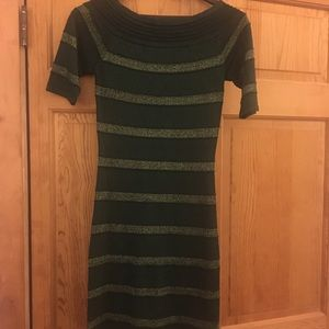 Green Sparkle Party Dress